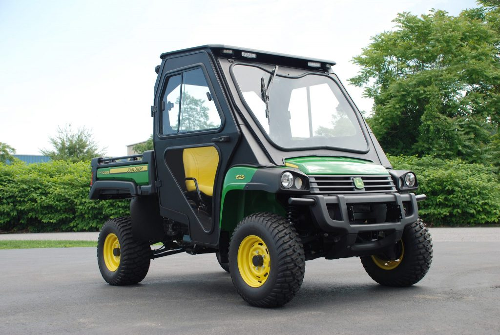John Deere Gator >> John Deere Gator Hpx Xuv All Steel Cab 2005 Curtis Industries