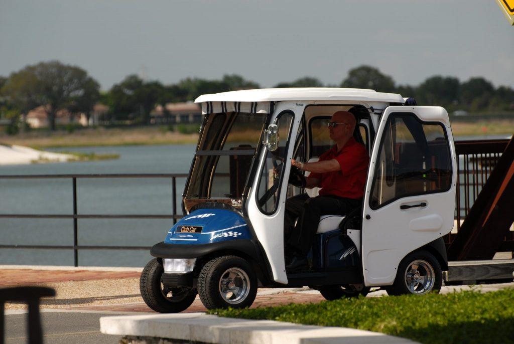 Club Car Precedent Cab Curtis Industries Golf Cart Enclosure