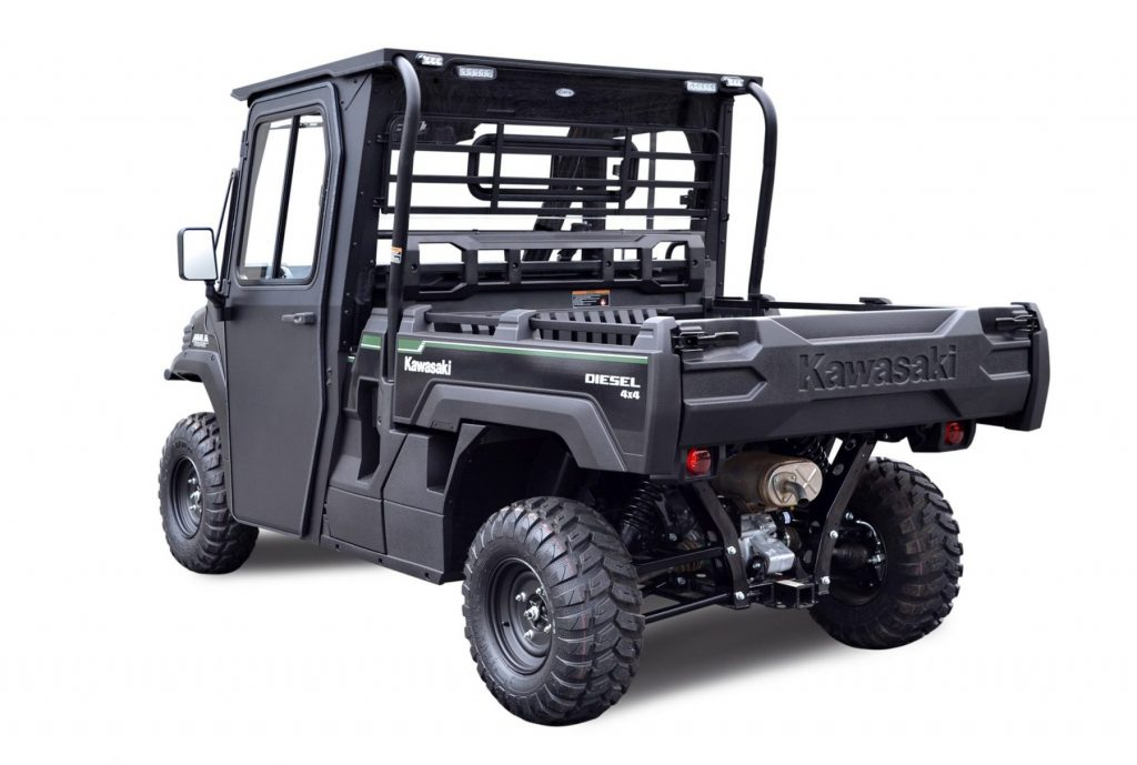 Kawasaki Mule Pro Fxdx Cab With As1 Safety Glass Windshield