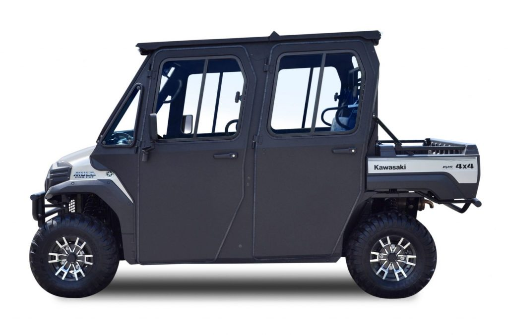 Kawasaki Mule Pro Fxtdxt Cab With Polycarbonate Windshield