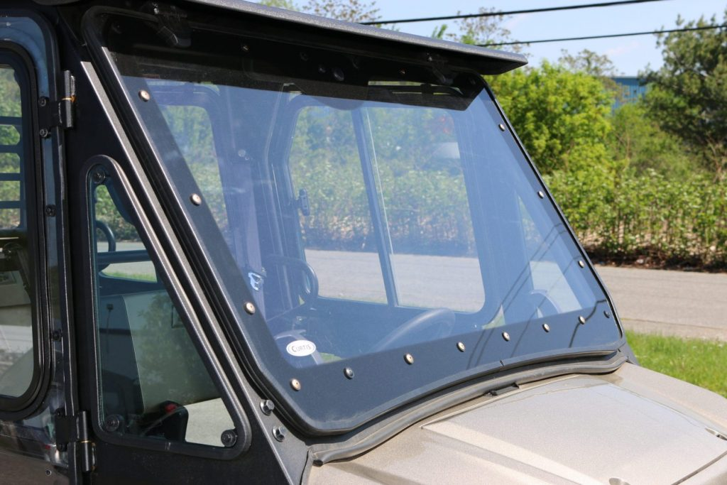 Kawasaki Mule Pro Fx Dx Cab With Polycarbonate Windshield